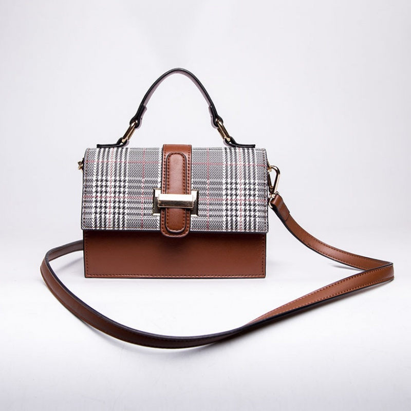 crossbody bags for women 2019 women's bag fashiony shoulder Messenger bag plaid simple handbag lady bags
