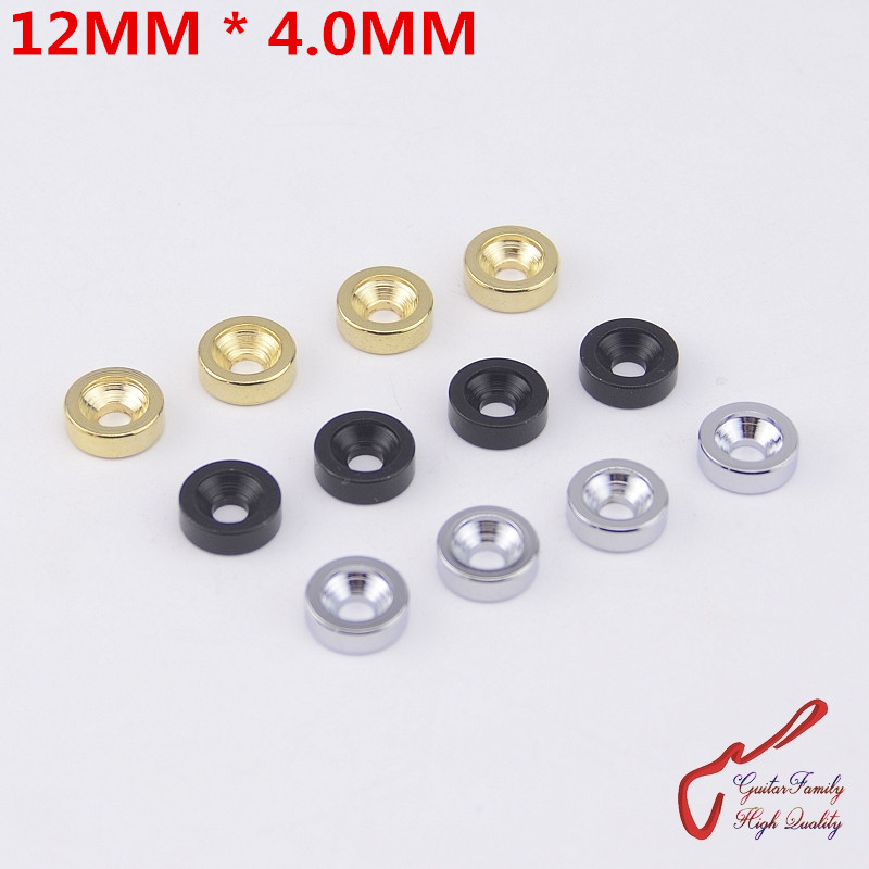 1 Set (4Pcs) GuitarFamily  Electric Guitar Bass Neck Joint Bushings Without Screws ( 12MMx4.0MM ) MADE IN KOREA