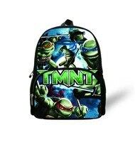 12 '' çocuklar sırt çantası hediyeler, yeni moda 2017 teenage mutant sırt çantaları, küçük karikatür ninja kaplumbağa çanta anaokulu öğrencileri için