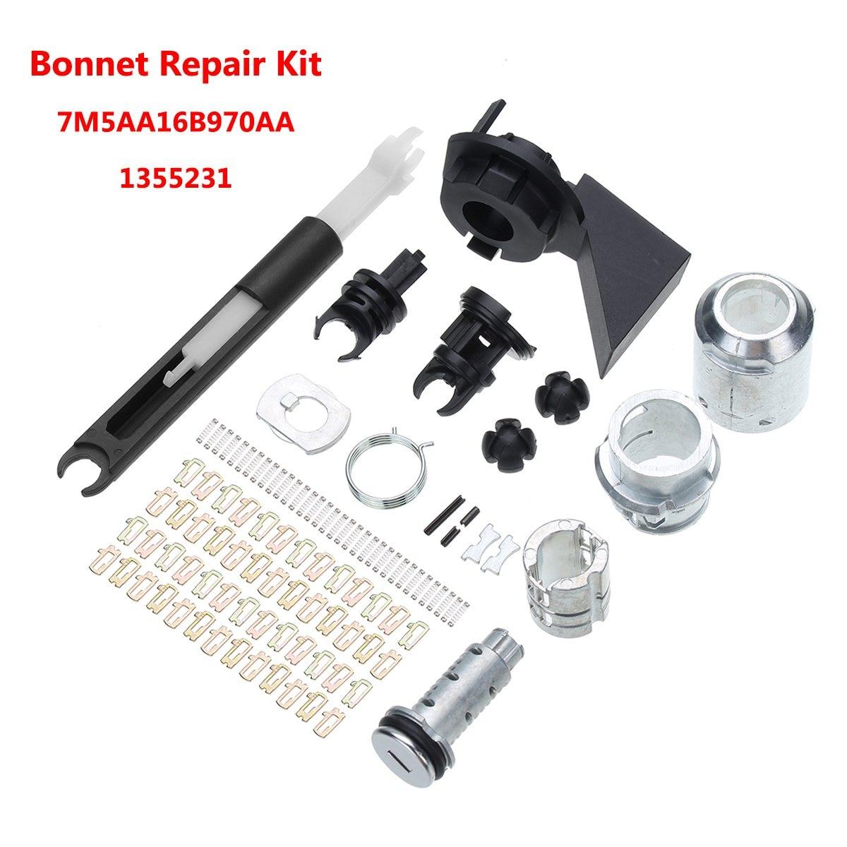 Bonnet Release Lock Repair Kit Latch Catch For Ford /Focus MK2 2004-2012 7M5AA16B970AA 1355231Bonnet Release Lock Repair Kit Latch Catch For Ford /Focus MK2 2004-2012 7M5AA16B970AA 1355231