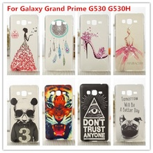Crystal 3D Diamond PC Plastic Back Phone Cover Case For Samsung Galaxy Grand Prime G530 G530H G5308W G531 G531HCases