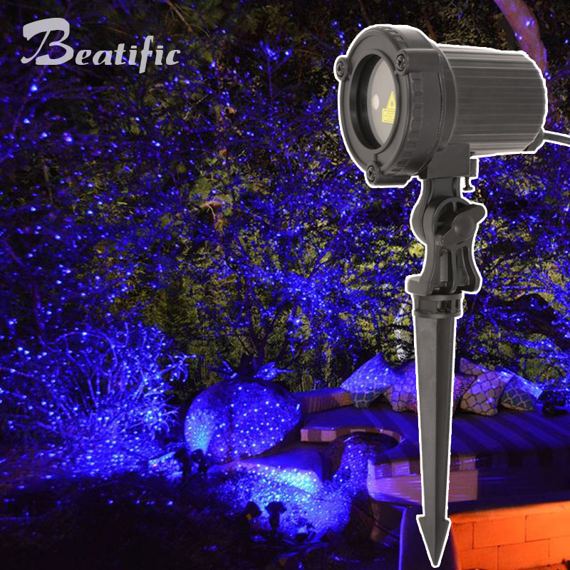 Outdoor Christmas Laser Lights Led New Year's Eve