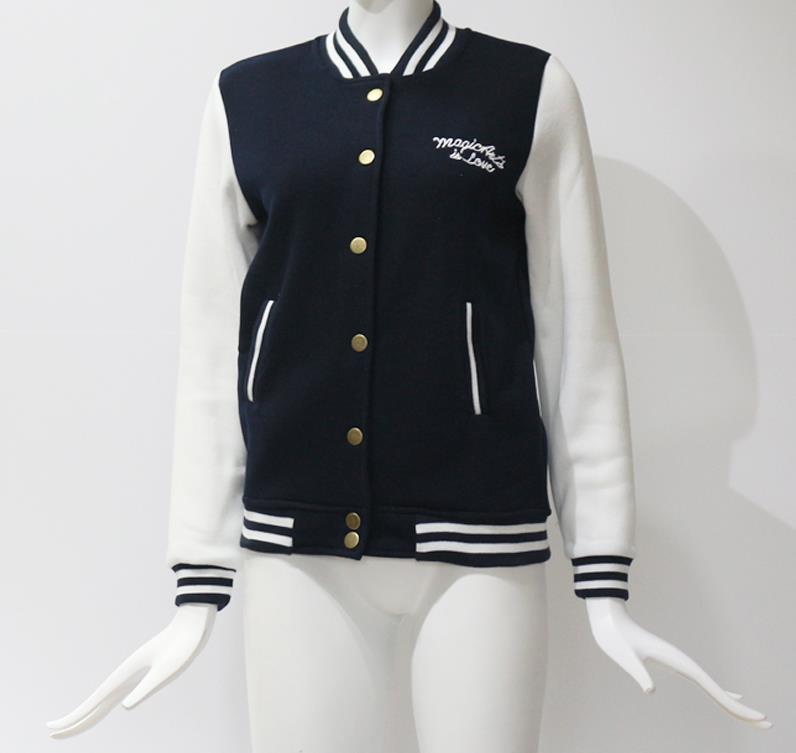 HTB1SnSWXh2rK1RkSnhJq6ykdpXas Women Baseball Jacket Casacos Femininos Preppy College Jackets Bomber Jacket 2018 New Autumn Winter Coats Basic Outwear XXL
