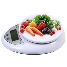 High Quality Useful New 5kg 5000g/1g Digital Kitchen Food Diet Postal Scale balance Scales # P EHO Free shipping