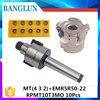 MT2 FMB22 M10 MT3 FMB22 M12 MT4 FMB22 M16 Shank EMR5R 50 22 4T Face Milling