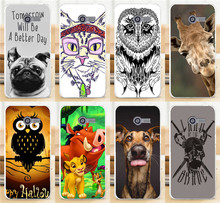 Cute Animal Giraffe Dog The Lion King Phone Cases For ASUS ZenFone 4 Zenfone4 A400CG 4inch Phone Case Back Cover Shell Capa