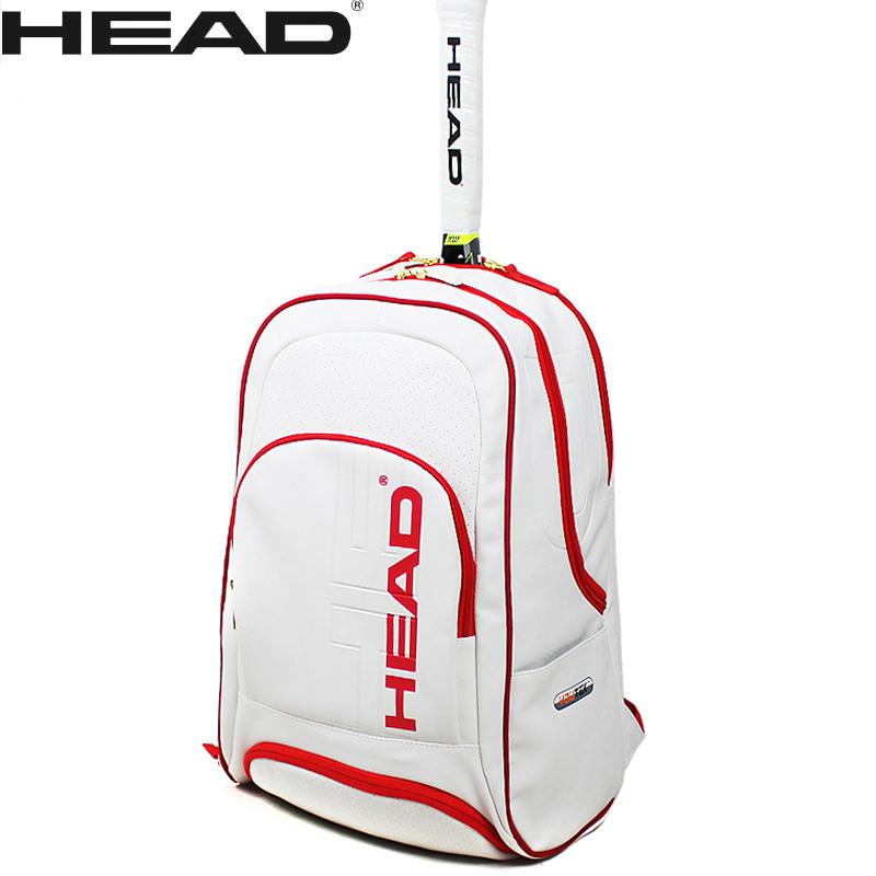 Head High Quality Pu Tennis Racket Bag Badminton Raquete Backpack With Breathable Shoes Bag Christmas Edition In Short Supply