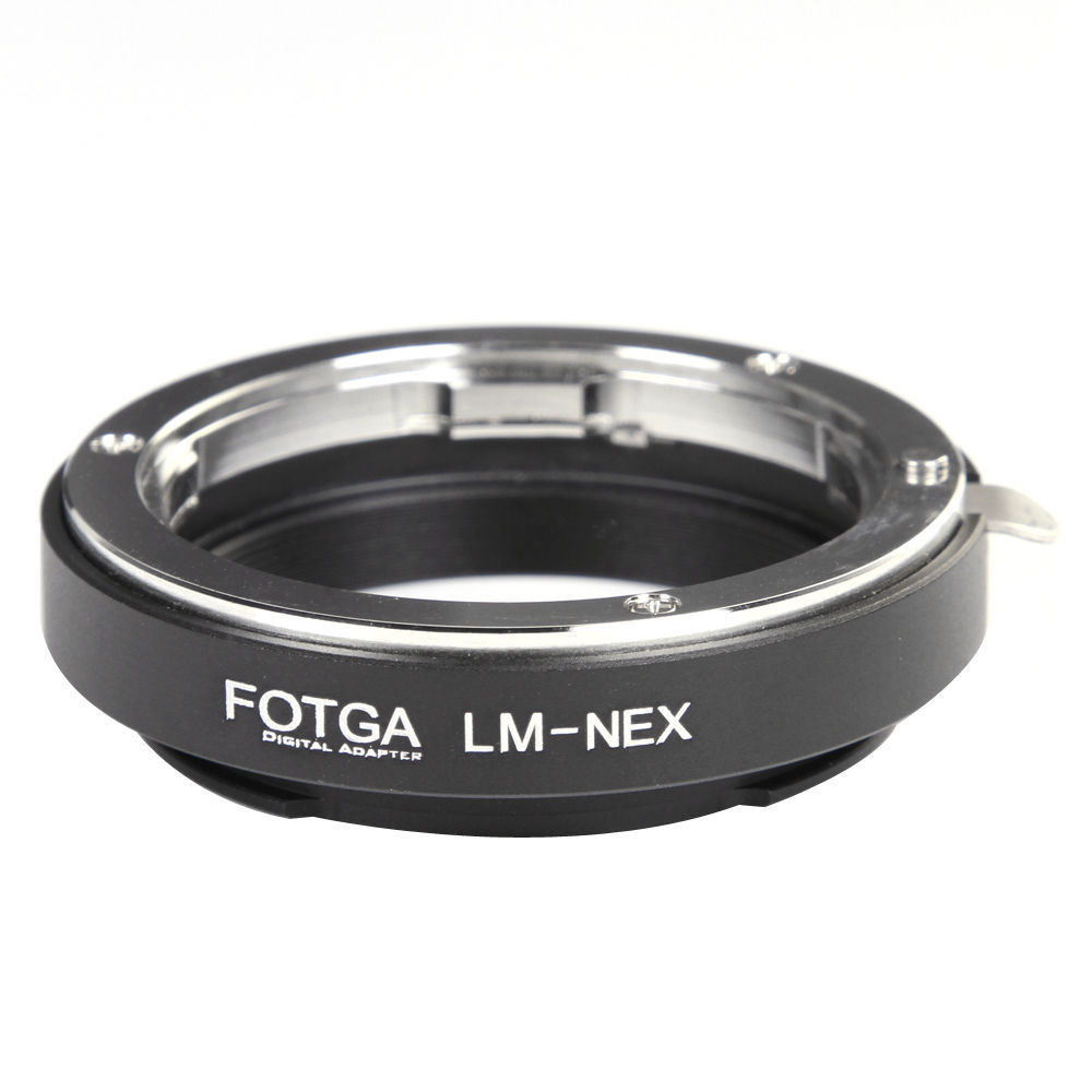 FOTGA Adapter Ring for Leica M Lens to Sony E Mount A7III A9 A7R A6000 A3000 NEX-7 6 5 3 5N 3VG10E VG20E Cameras Camcorders fotga adapter ring for contax yashica cy lens to sony e mount nex 3 nex 5 nex 7 5c 5n 5r cameras