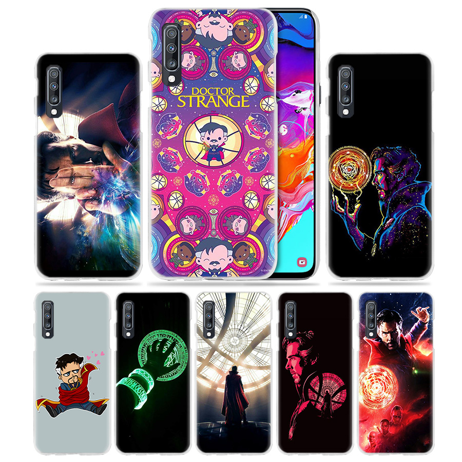 Dashing Marvel Doctor Strange Case For Samsung Galaxy A50 A70 A20e A40 A30 A20 A10 A8 A6 Plus A9 A7 2018 Hard Clear Pc Phone Coque Cover Wide Varieties Cellphones & Telecommunications