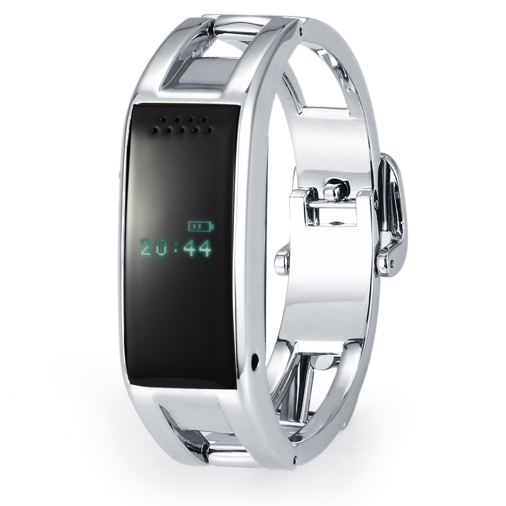 94497951a19 Bluetooth vibra pulseira inteligente pulseira de prata esportes d8  inteligente smart watch para ios android phone reloj inteligente em  Pulseiras ...