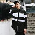 VIISHOW Мужчины Полосатый Рубашка С Длинным Рукавом Марка Хип-Хоп Рубашка Slim Fit Повседневная Социальная Homme Camisa Masculina Блузки CC04863