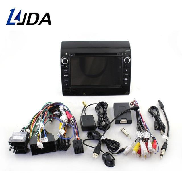 LJDA Android 10 Car Multimedia Player For Fiat Ducato Citroen Jumper Peugeot Boxer GPS Stereo 1Din Car Radio 4G+64G Stereo WIFI