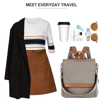 d16343f2eaa7 HERALD модный качественный кожаный Анти-Вор женский рюкзак большой емкости  школьная сумка для девочек-подростков мужские дорожные сумки