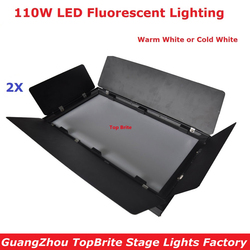 2XLot Factory Price 110W LED Strobe Effect Lights With 1 DMX Channels For Party Wedding Disco Events Lighting Fast Shipping