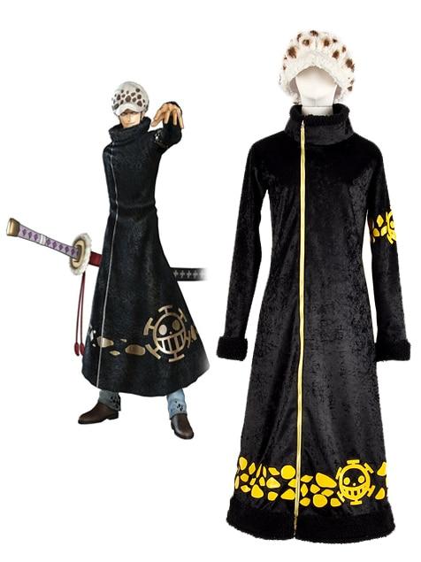 Trafalgar Law Clothes Cosplay One Piece Surgeon of Death Trafalgar Law Cosplay Costume Custom Made Any