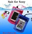 """5.5 """"Универсальный Водонепроницаемый Сенсорный Экран Сумка Case Чехол Для Sony Xperia M2 S50h Z L36H Z1 Z2 Z3 Z4 Z5 Z1/3/5 Компактный мини M4 Aqua"""