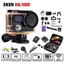 EKEN H8 H8R Action Camera 4K/30fps 1080p/60fps + 2.0 Dual Screen WiFi Remote control Waterproof cam go sport Camera pro