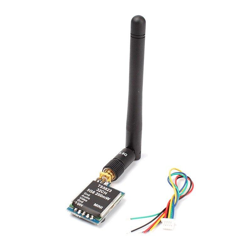 Ts5823 5.8 Г 5.8 ГГц 200 МВт 32CH мини FPV-системы беспроводной аудио/видео AV Передатчик для Phantom 1.5 км Диапазон