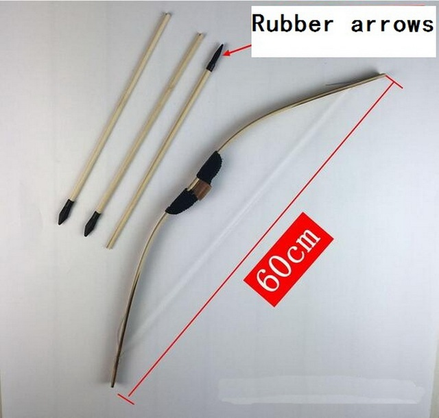 Children Outdoors Shooting Bows And Arrows  With Arrow Box Original Bow And Arrow 1 Set, Children'S Favorite Hunting Toys