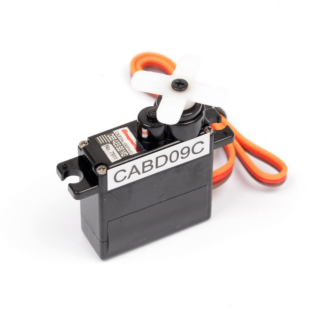 Graupner DES 428 BBMG Torque 9mm Digital Servo For RC Helicopter Model Airplanes Mini Steering Gear
