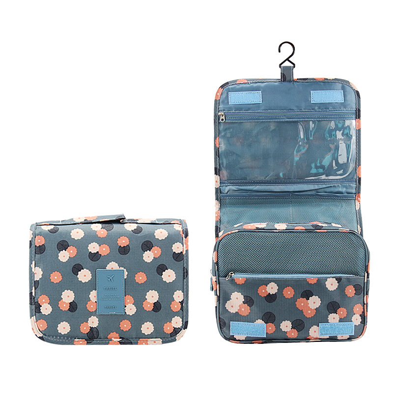 bbe2ff322d60 US $6.53 34% OFF|DINIWELL Hanging Toiletry Kit Clear Travel Storage Bag  Cosmetic Carry Toiletry Pockets For Womens Gril Gift Travel Bathroom-in ...