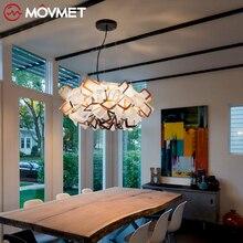2019 Warm home Led Ceiling Lights decoration for living room luminarias para sala de jantar crystal flower shade lamp недорого