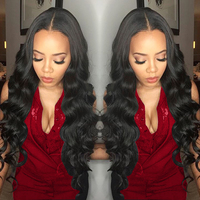 Sapphire Peruvian Body Wave Human Hair 3pcs Lot 100 Human Hair Bundles Remy Hair Extensions 8