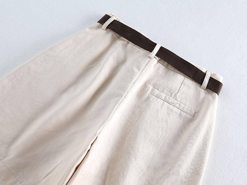 Casual Women Shorts A-line High Waist Slim Summer Shorts 42