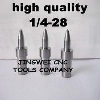 Hartmetall fluss drill America system UNF 1/4-28 (5,9mm) rund, fdrill bit für edelstahl