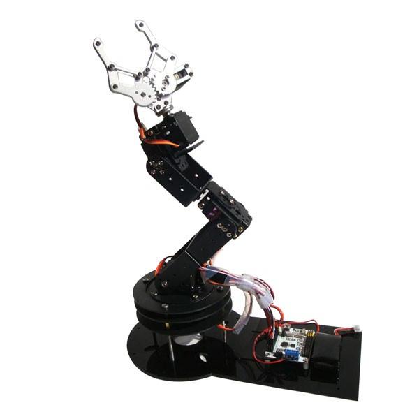 6 DOF Alloy Robot Arm (1)