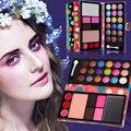 T2N2 Billfold Shape 18 Color Cosmetic Matte Eyeshadow Cream Eye Shadow Blusher Makeup Palette Set