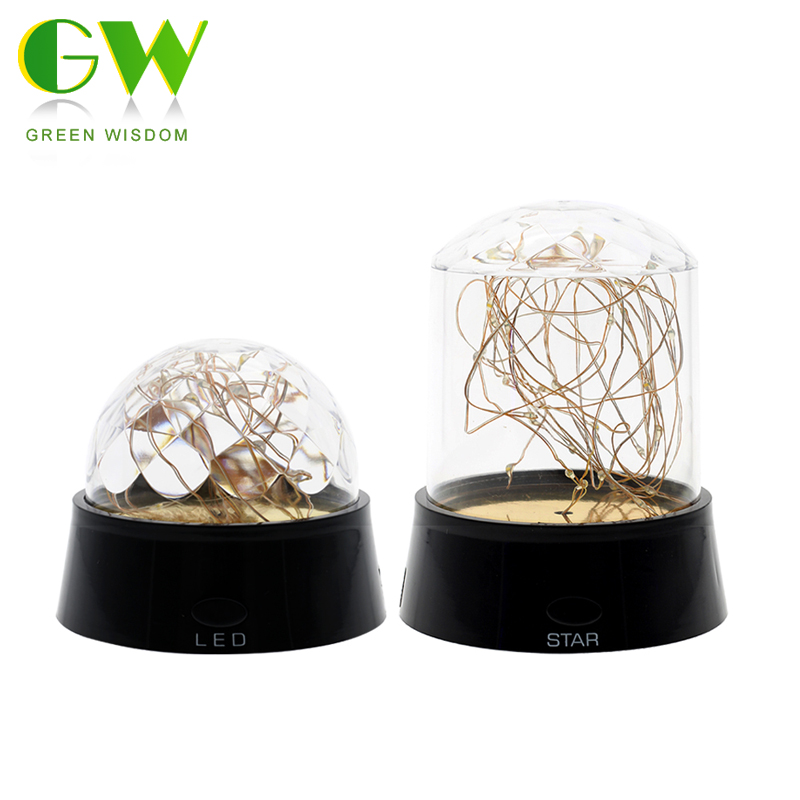 LED Fire Tree Silver Flower Night Light Energy-Saving Bedroom Bedside Romantic Desk Lamp Party Home Decor