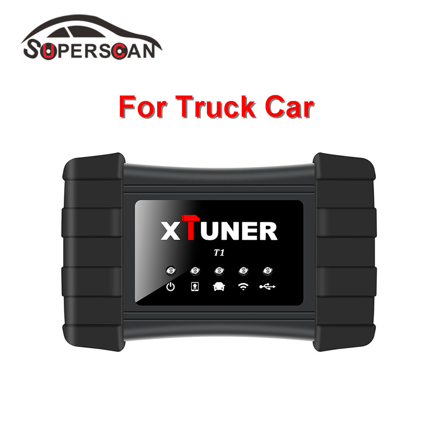Newly XTUNER T1 Professional Heavy Duty Truck Diagnostic Tool Auto Diagnostic Tool with DPF Reset Support WiFi and USB Connect  цены