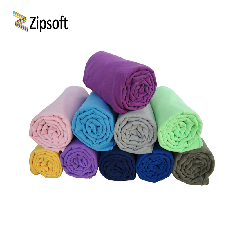 Zipsoft Microfiber Groot formaat strandlaken Sneldrogend Compact voor bad Gym Travel Camping Sport Hot Yoga handdoek badmode deken