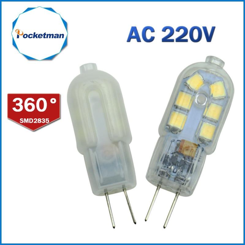 G4 LED Lamp 3W AC 220V SMD2835 Lampada LED G4 Bulb Milky/Transparent 360 Beam Angle Lights Replace Halogen 30W Mini G4 ynl led g4 lamp 220v 3w 4w 5w dc 12v lampada g4 led bulb smd3014 2835 24 48 64 104l replace 10w 30w halogen light 360 beam angle