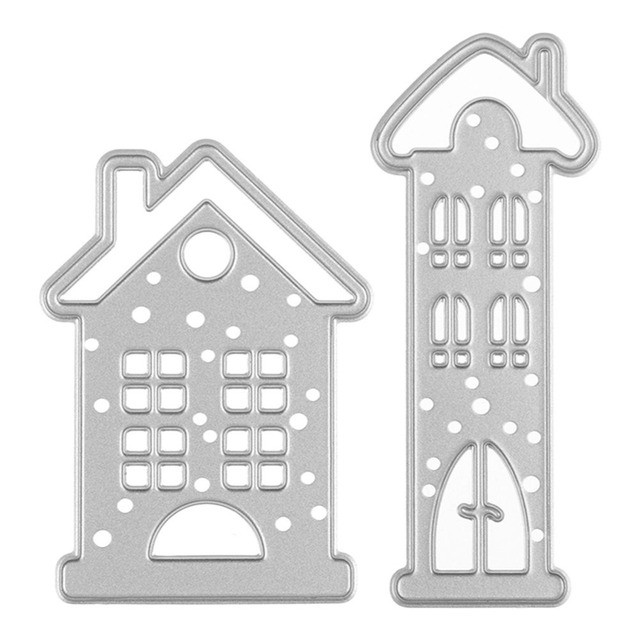 Fairy Story House Metal Cutting S For Sbooking Stencils Diy Al Cards Cuts Template