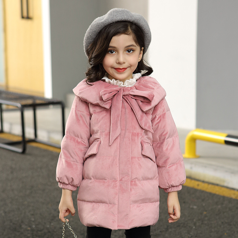 2018 New Baby Girl Winter Clothes Kids Girls Winter Jacket Coats Parkas Children Down Outwear Coat Fashion Cute Girl Clothing недорго, оригинальная цена
