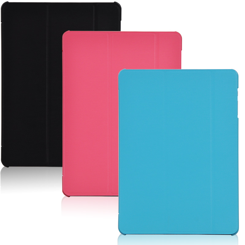 Fashion Ultra Slim 3-Folder Folio Stand PU Leather Skin Talk9X Protective Shell Cover Case For Cube Talk 9X U65GT 9.7
