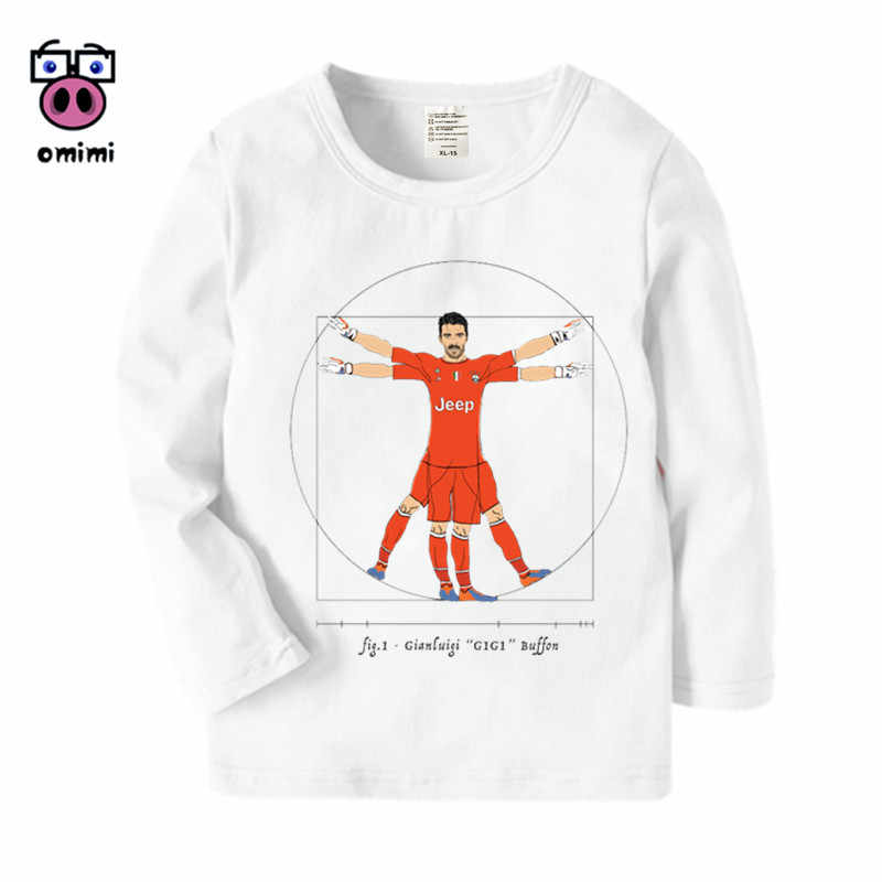 sports shoes f6bba b2981 Kid's Long Sleeve Cristiano Ronaldo CR7 Cartoon Printed T Shirt Boys Girls  Autumn Casual Winter Kids T-Shirt