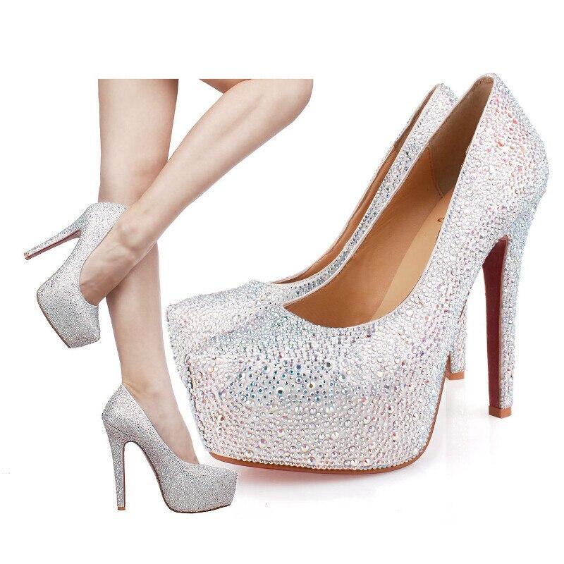 Popular Silver Platform Heels-Buy Cheap Silver Platform Heels lots ...