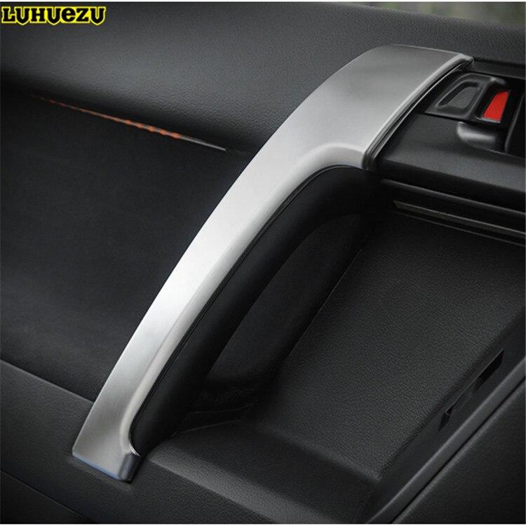 Luhuezu pour Land Cruiser Prado LC150 voiture intérieur porte poignée panneau garnitures style couverture 2010-2017 accessoires