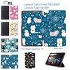MTT Cat Avatar Colorfull Print Tab 3 8 Inch TAB3 850M 850F Tablet Case For Lenovo