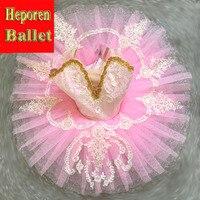 Custom Made Confetti Pink Ballet Tutu Dress,Fairy Doll Pink Ballet Costumes Sugar Plum Fairy Burlesque Tulle Ballet