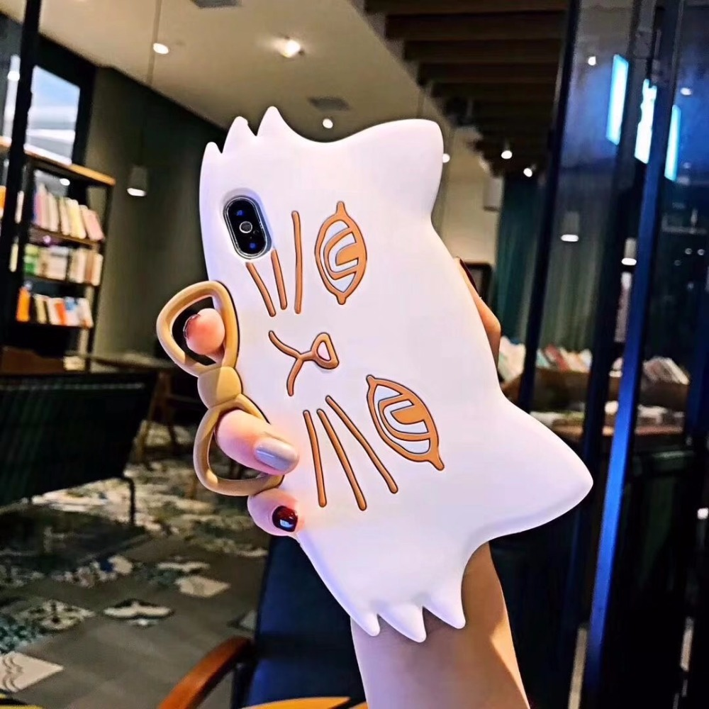 Dulcii Phone Case for iphone X 8 8plus 7 7plus 6 6S 6plus Cute 3D glasses Cat Silicone Coque Cover for iphone X 8 8plus