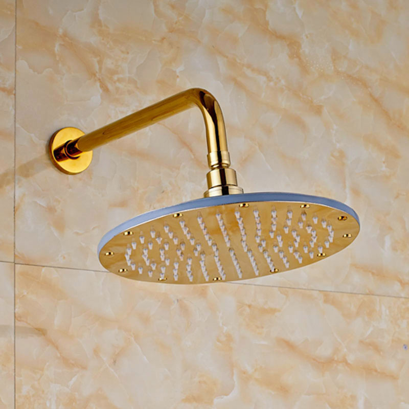 cheap rain shower head. ULGKSD Bathroom Rain Shower Head Golden Square with LED China  Mainland Online Get Cheap Aliexpress com Alibaba