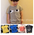 2016 new bobo choses spring summer kids  t shirt boys girls t-shirts tops baby bebe tee family matching outfits clothing