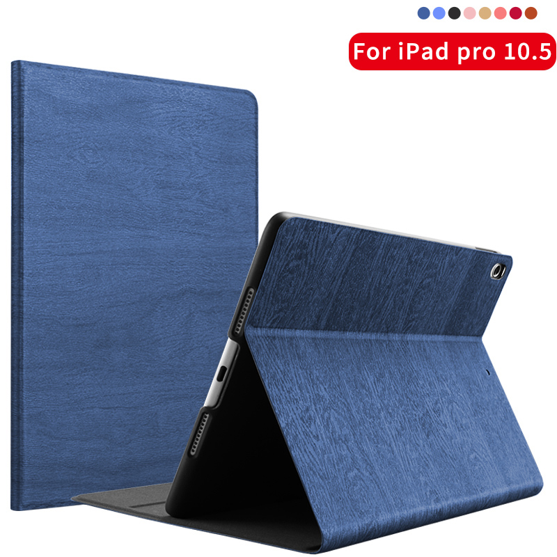 все цены на For iPad Pro 10.5 inch Case kenke Ultra Slim Folding Stand Auto Sleep / Wake Back smart Cover For Apple iPAD 10.5