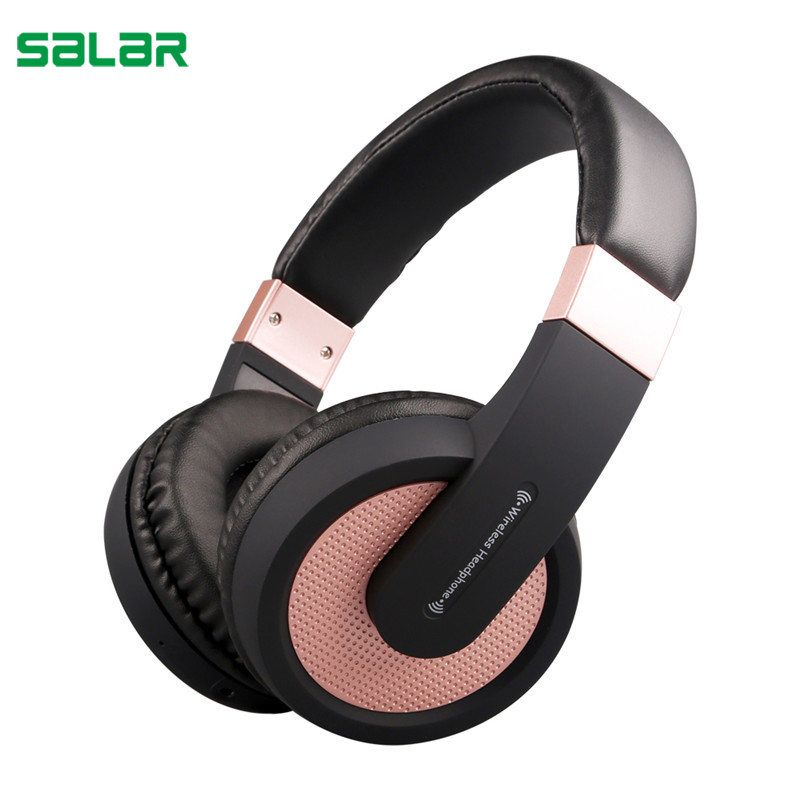 Salar SL Wireless bluetooth Headphones/headset with Bluetooth Stereo and microphone for music wireless headphone hoco original bluetooth headphones with microphone wireless headset bluetooth gamer music pc for iphone samsung xiaomi headphone
