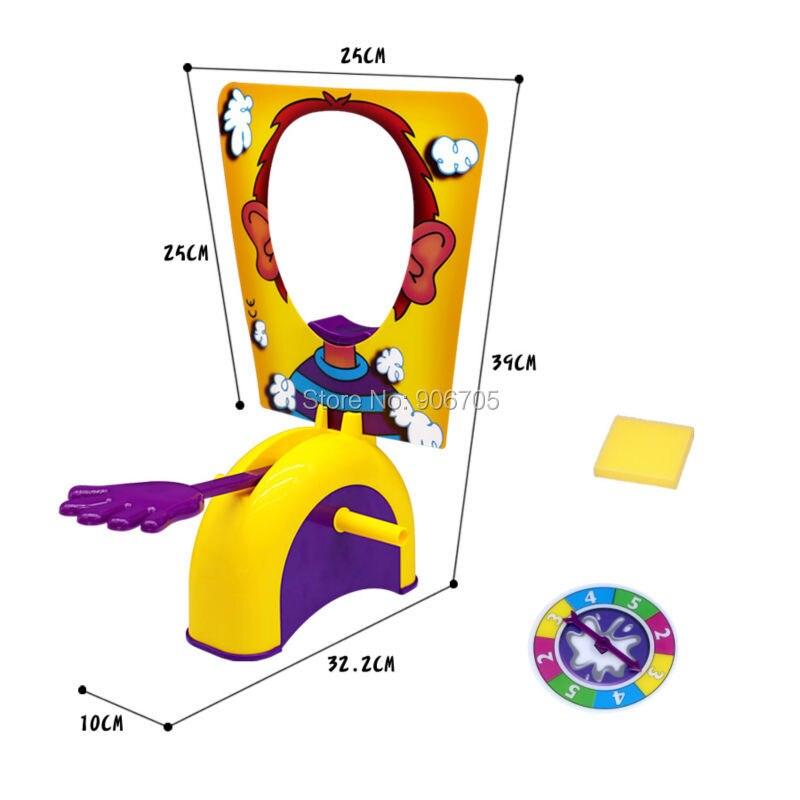 놀이터 재미있는 장난감 파이 얼굴에 가족 파티 재미있는 게임 가젯 대결 도전 장난 농담 농담 안티 스트레스 완구