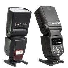Nueva wansen ws-560 speedlite flash de la cámara para nikon d3100 d5100 d7000 canon 60d 600d 650dv 70d 5d 1d 5dii 5 5diii 50d olympus